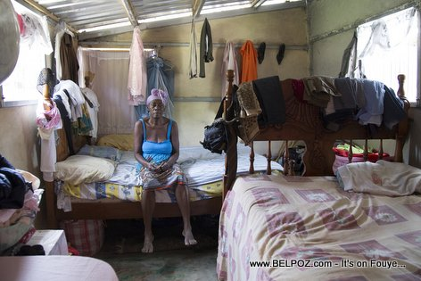 PHOTO: Haiti Reconstruction - Inside a Home Built by the Red Cross with your Donation Money
