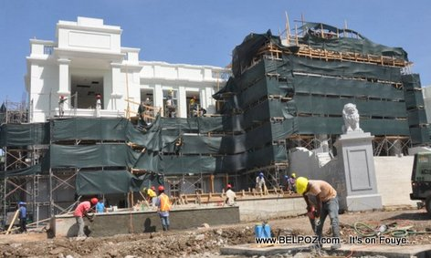 PHOTO: Haiti Reconstruction - Cour de Cassation Under Construction