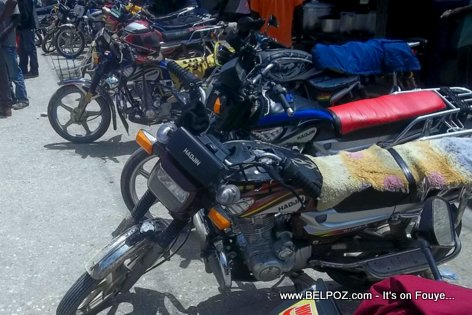 PHOTO: Taxi Moto - Hinche Haiti