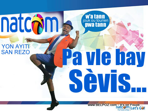PHOTO - Haiti Internet - Natcom Pa Vle Bay Sevis