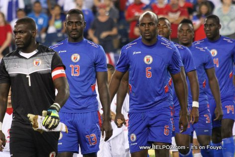 PHOTO : Haiti Football Team vs USA - Gold Cup 2015