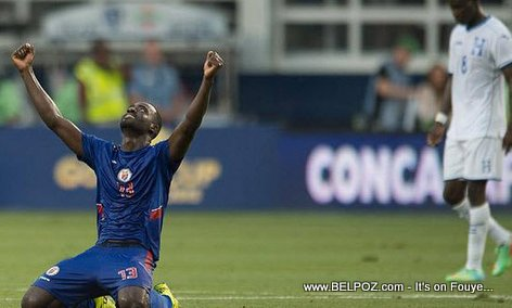 PHOTO: Haiti Football - Haiti Beat Honduras 1-0 at Gold Cup...