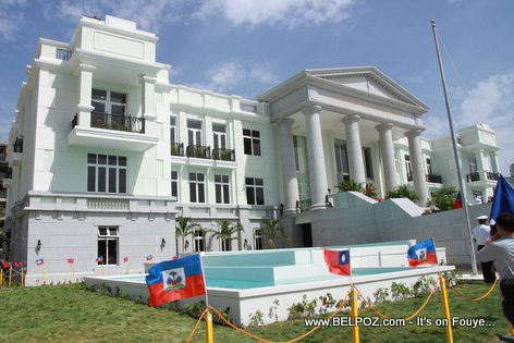 PHOTO: Haiti - Newly Built Cour de Cassation Building
