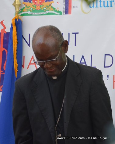Haiti - Monseigneur Simon Pierre Saint-Hillien, eveque de Hinche