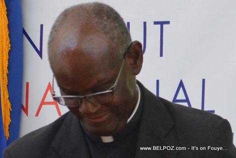 Haiti - Monseigneur SimonPierre Saint-Hillien, eveque de Hinche