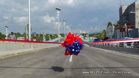 PHOTO: Haiti - Viaduct De Delmas, Inauguration Day...