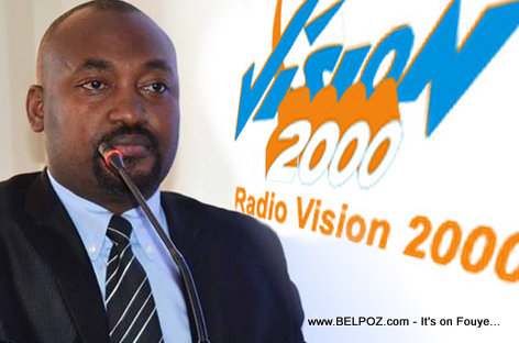 PHOTO: Haiti - Valery Numa - Radio Vision 2000