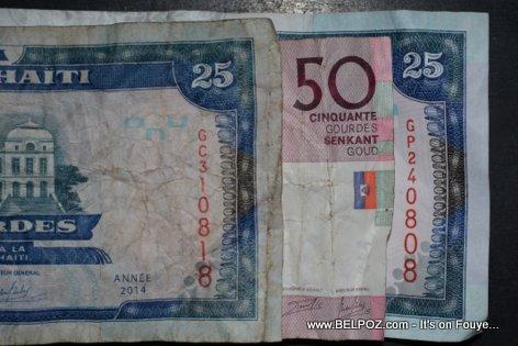 PHOTO: Haiti - Gade Sa, Chak Biye GOURDE yon gwosè Diferan
