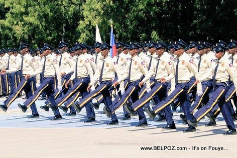 PHOTO: Haiti National Police Force, New graduating class