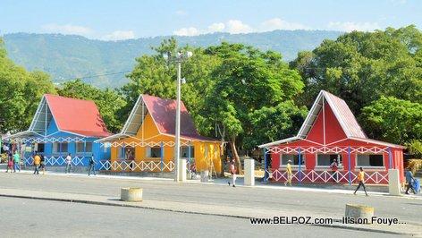 PHOTO: Haiti CARIFESTA -  Grand Market Kiosks, Place des Artistes