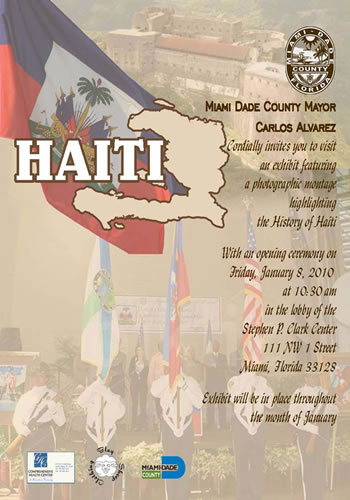 Miami Dade FL Celebrates Haitian Indepedence Month