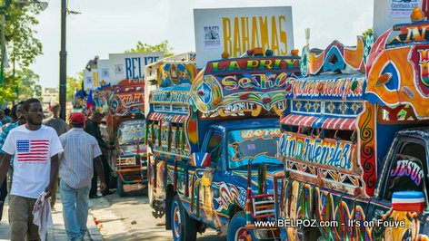 PHOTO: Haiti CARIFESTA, Colorful Haitian Tap-Taps display a Unique Caribbean Experience...