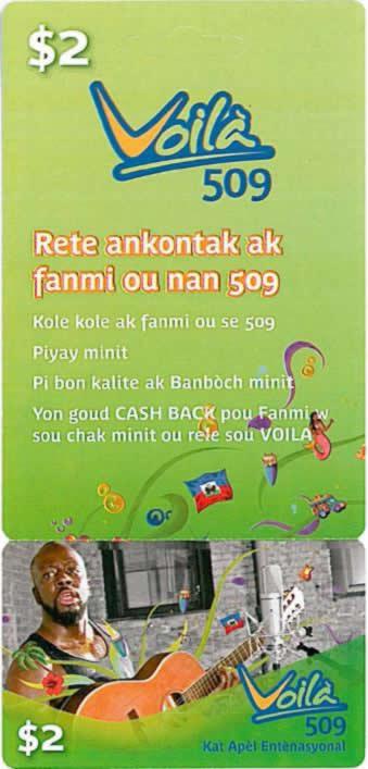 Haiti Calling Card