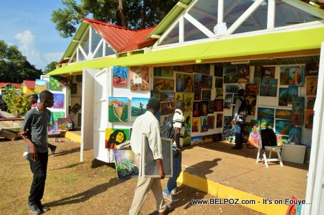 PHOTO: Haiti CARIFESTA Art Show