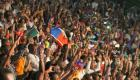 Haiti - Big Crowd enjoying CARIFESTA XII at Champs-de-Mars