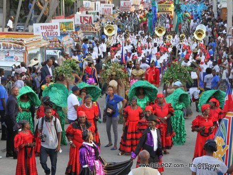 Haiti - CARIFESTA XII Parade - Lancement Officiel