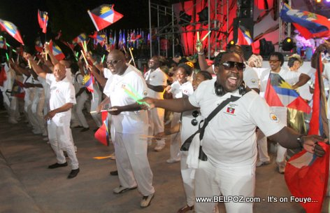 Haiti CARIFESTA XII - Antigua and Barbuda Celebrating in Haiti