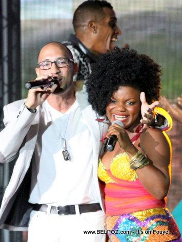 Haiti CARIFESTA XII - J Perry Perform Theme Song, Openning Ceremony