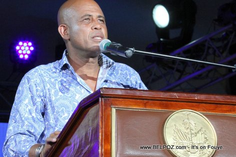 Haiti CARIFESTA XII President Martelly Speaking at Opening Ceremony