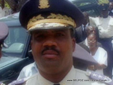 Jean Nesly Lucien - Haiti Police Chief