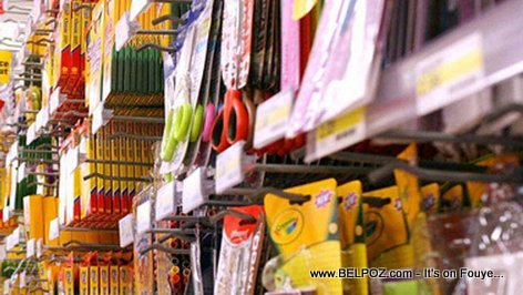 PHOTO: School Supplies Aisle - Back To School