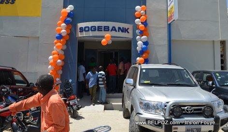PHOTO: Haiti - Nouvo Sucursale SOGEBANK nan ville Hinche