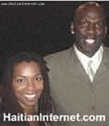 Vanessa Williams  and Olden Polynice
