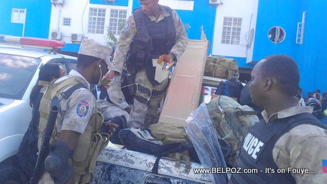 PHOTO: Haiti - Police Nationale