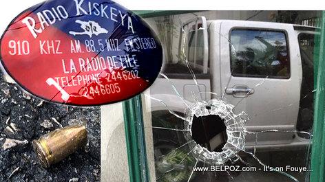 PHOTO: Haiti - Neg ak Zam Tire Sou Radio Kiskeya