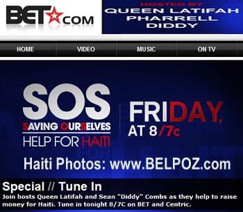 BET Haiti Telethon