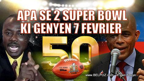 O O... Haitiens Diaspora, Apa se 2 Super Bowl ki genyen 7 Fevrier 2016