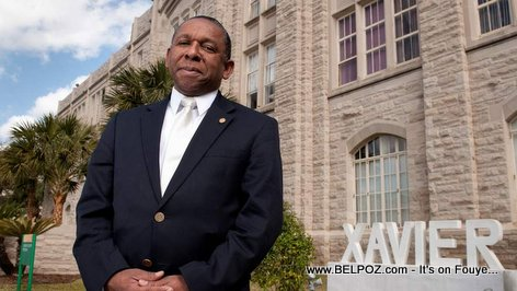 PHOTO: Reynold Verret, Haitian, President of Xavier University Louisiana
