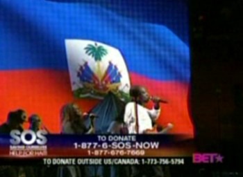Wyclef Live: BET SOS Help For Haiti Concert Telethon