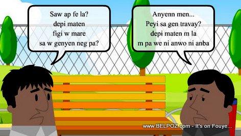 PHOTO: Haiti Cartoon - Kisa w ap fe la?