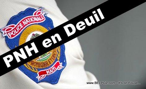 PHOTO: Haiti Police - PNH en Deuil