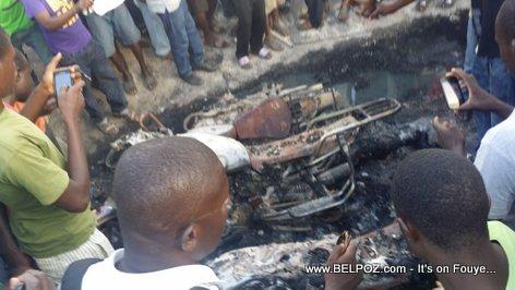 Hinche Haiti - Station Gasoline TOTAL la Pran DIFE