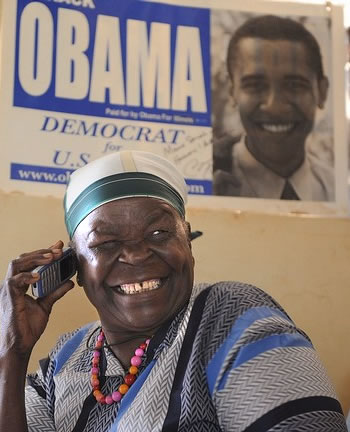 Barack Obama Grandmother - Obama Poster
