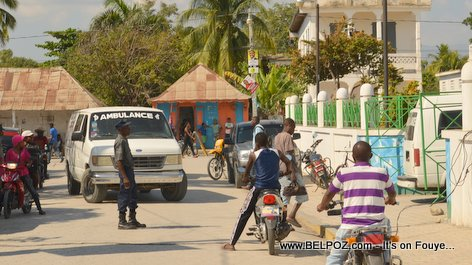 PHOTO: Funerailles Victim DIFE Yo - Hinche Haiti