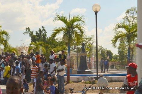 PHOTO: Funerailles Victim DIFE Yo - Hinche Haiti