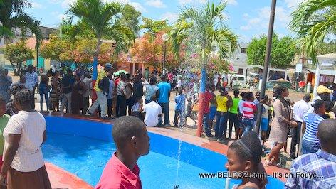 PHOTO: Funerailles Victim DIFE Pump Gasoline, Hinche Haiti