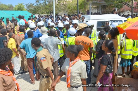 PHOTO: Funerailles Victim DIFE Pump Gasoline, Hinche Haiti