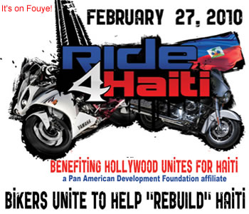 Ride For Haiti Morotcycle Event