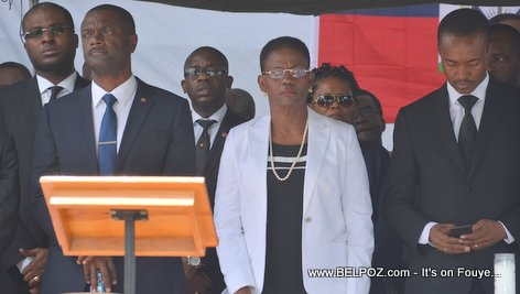 Photo - Hinche Haiti, Fred Piton, Ginette Privert, Francisco Delacruz, Funerailles Victim DIFE Pump Gasoline