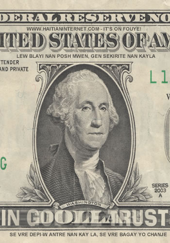 The US Dollar, Some Haitians Call it 'Caesar'