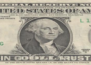 USA Money dollar bill