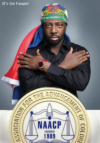 Wyclef Jean NAACP Award For Haiti Fundraising