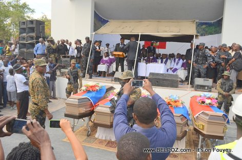 Photo - Hinche Haiti, Funerailles Victim DIFE Pump Gasoline