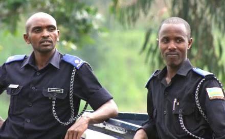 Rwanda Police Officers