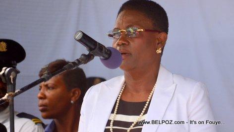 Photo - Hinche Haiti, Ginette Michaud Privert, Funerailles Victim DIFE Pump Gasoline