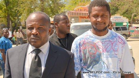 Photo - Hinche Haiti, Senateur Desras, Funerailles Victim DIFE Pump Gasoline